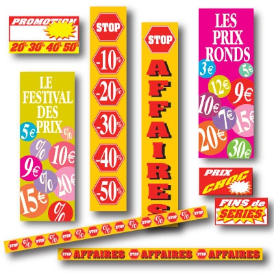 Affiches STOP AFFAIRES