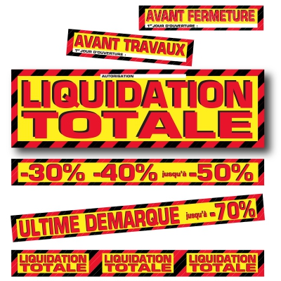 Affiches LIQUIDATION TOTALE 03