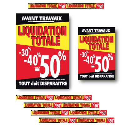 Affiches LIQUIDATION TOTALE 04