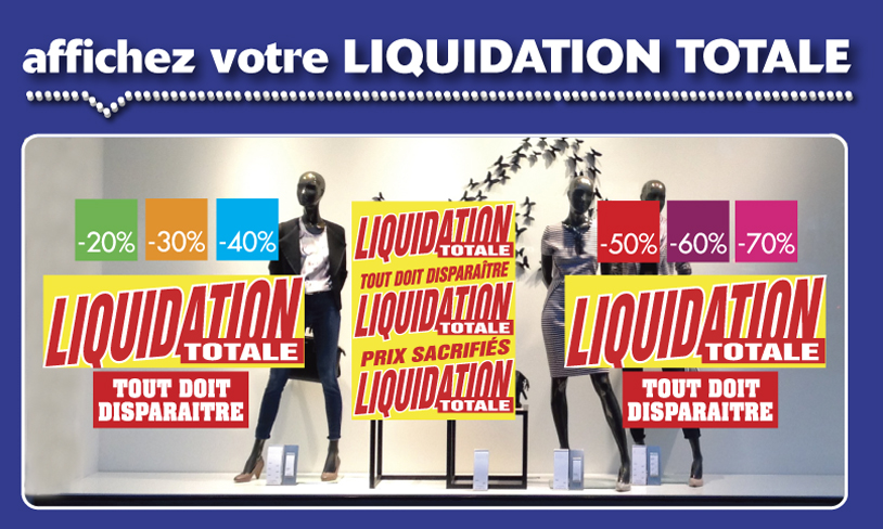 Affiches LIQUIDATION TOTALE 05