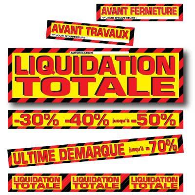 Affiches LIQUIDATION TOTALE 03