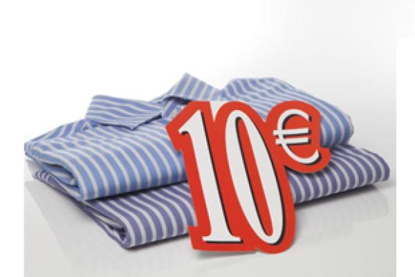 Carton 10 € L24 H28 cm