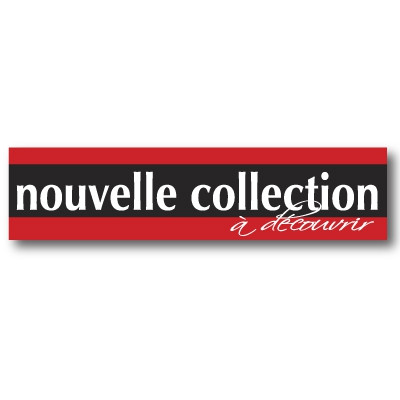 "Affiche ""NOUVELLE COLLECTION""  L115 H28 cm"
