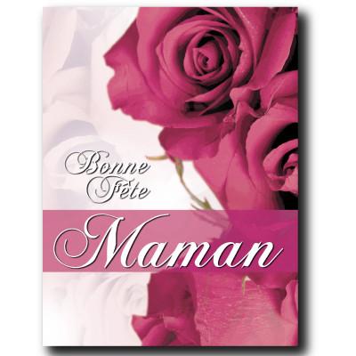 """Affiche """"Bonne Fête Maman"""" L60 H80 cm"""