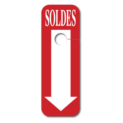 """5 cartons """"SOLDES"""""""