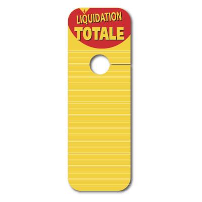 "5 cartons ""LIQUIDATION TOTALE"""