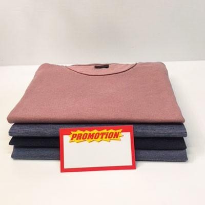 """Paquet de 100 étiquettes carton """"promotion"""" L120 H70 mm"""