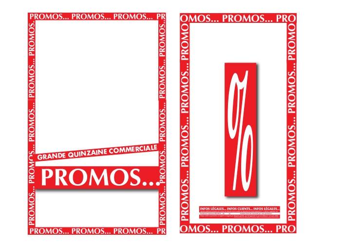 """Kit """"PROMOS 01"""" de 23 affiches"""