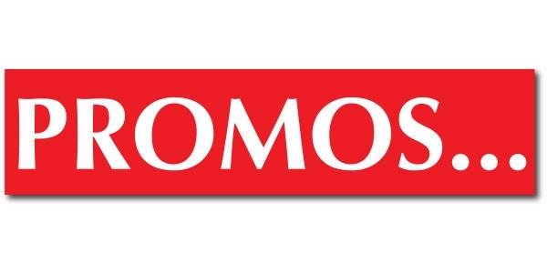 """Affiche """"PROMOS..."""" L170 H40 CM"""