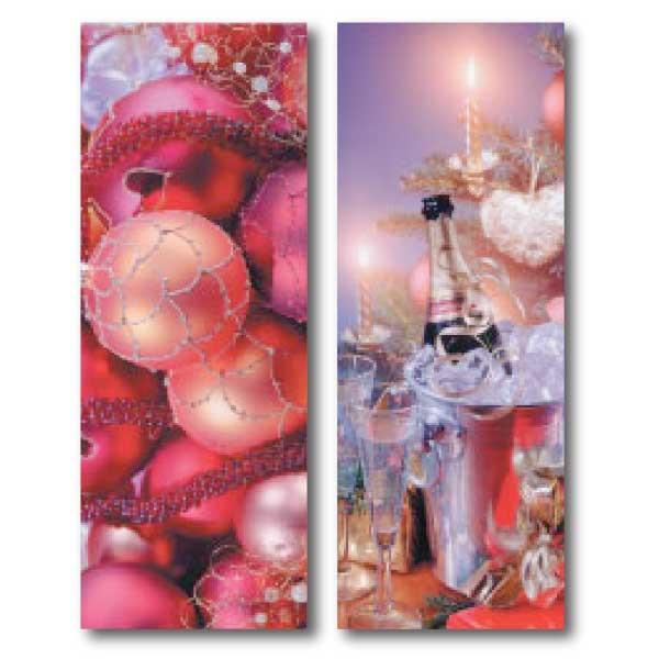 """Affiche M1 """"Champagne"""" L58 H156 cm , 2 en 1  recto verso"""