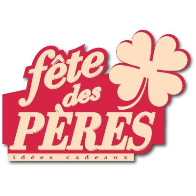 """Carton """"Fête des Pères"""" L34 H48 cm"""