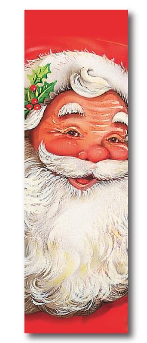 """Affiche """"Père Noël"""" L30 H90 cm"""