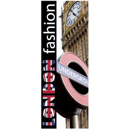 """Affiche """"LONDON"""" L95 H35 cm"""