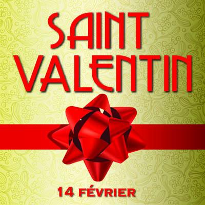 """Panneau """"SAINT VALENTIN"""" L33 H33 cm"""