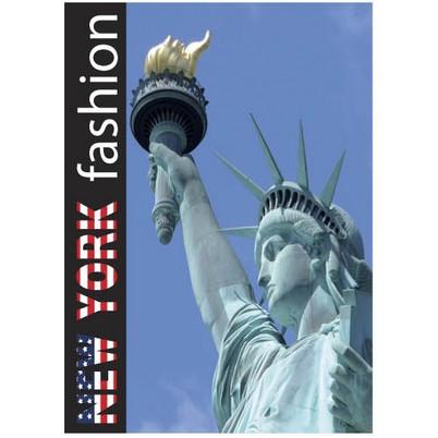 "Panneau ""NEW YORK fashion"" 2 L25 H35 cm"