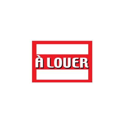 """Panneau """"À LOUER"""" L55 H40 cm"""