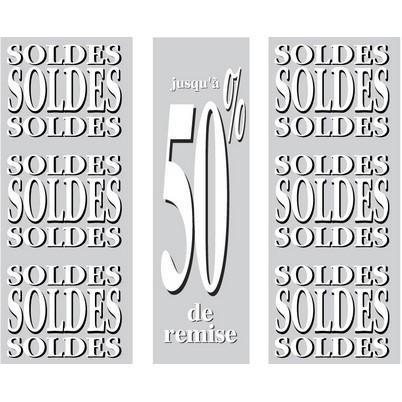 "Kit 3 affiches ""SOLDES """