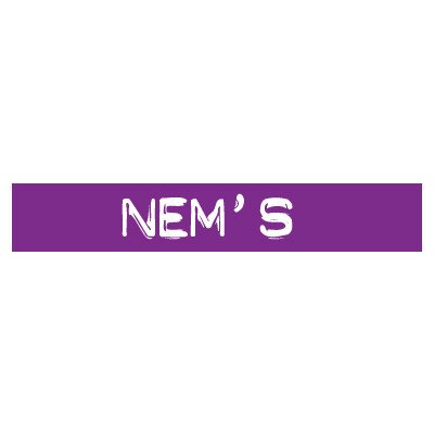 "STICKER satiné L60 H10 cm ""NEM'S"""