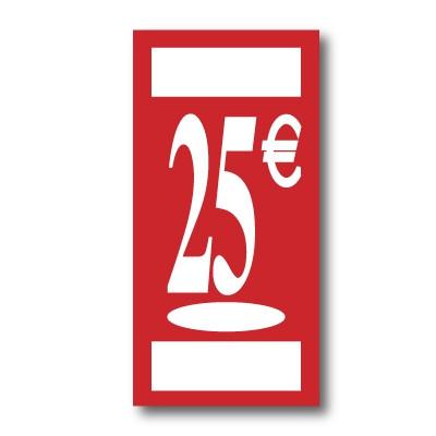 Panneau polypro 25€ L19 H38 cm