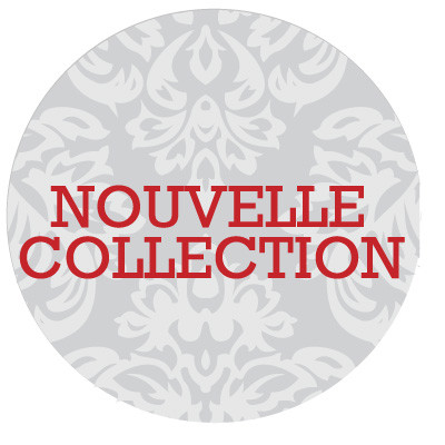 "Carton rond ""NOUVELLE COLLECTION"""