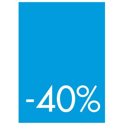 Pochettes de 5 cartons A4 40%
