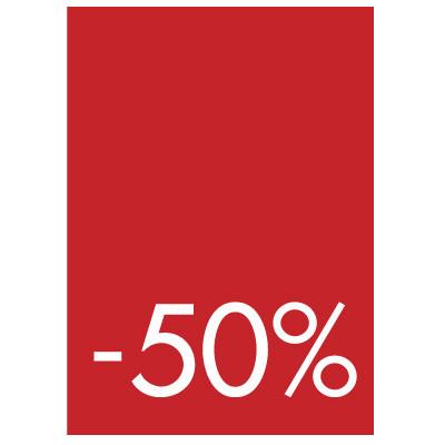 Pochettes de 5 cartons A4 50%