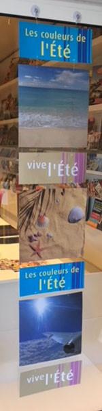 """Carton """"L'Eté"""" L34 H150 cm"""