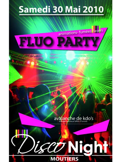 """Panneau """"FLUO PARTY"""" L80 H120 CM"""