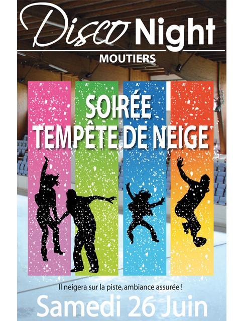 """Panneau """"TEMPÊTE DE NEIGE"""" L80 H120 cm"""