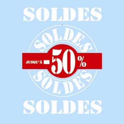 """Vitro """"SOLDES"""" L50 H70 cm"""