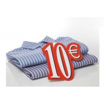 """Carton """"10 €"""" L24 H28 cm"""