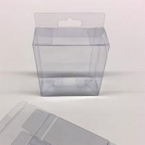 Boîte transparente L100 H 100 P 45mm