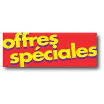 """Affiche """"OFFRES SPECIALES"""" L80 H30 cm"""