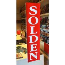 Poster SOLDEN  L20  H82 cm.
