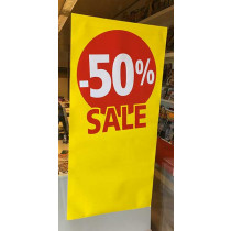 Poster SALE 50%, 115 x 56 cm
