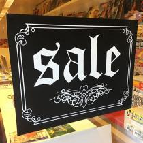 """Poster """"SALE"""" L80 H60 cm"""