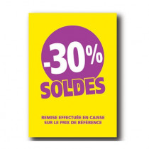 Pochette de 5 cartons A4 30%