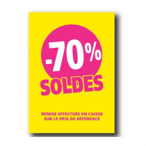 Pochette de 5 cartons A4 70%