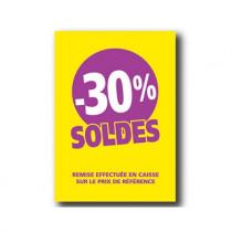 Pochette de 5 cartons A5 30%