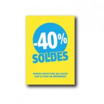 Pochette de 5 cartons A5 40%