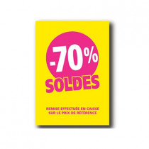 Pochette de 5 cartons A5 70%
