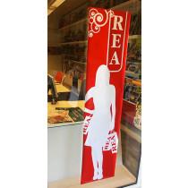 Poster REA L40 H168cm