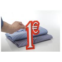 Carton 1 €  L6 H28 cm