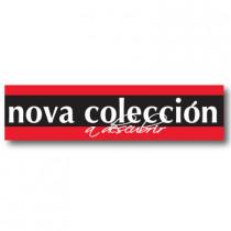 Cartel NOVA COLECCION, 28 x 115 cm