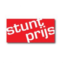 "Affiche ""STUNT PRIJS"" L60 H30 cm"