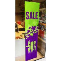 """Poster """"SALE"""" L40 H168 cm"""