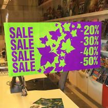 """Poster """"SALE"""" L60 H30 cm"""