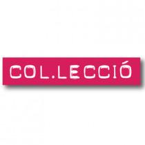 Cartel COL.LECCIO, 70 x 14 cm