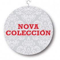 Cartel NOVA COLECCION, 48 x 48 cm