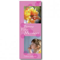 """Affiche """"Bonne fête maman - Idées cadeaux"""" L42 H115 cm"""
